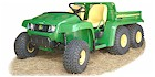 2009 John Deere Gator Traditional TH 6x4 Diesel