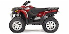 2007 Polaris Hawkeye 4x4 Sunset Red (Limited Edition)