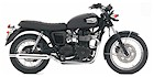2008 Triumph Bonneville Black