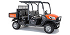 2017 Kubota RTV-X1140 Orange