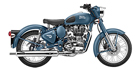 2018 Royal Enfield Classic Squadron Blue