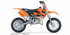 2004 KTM 50 Adventure Mini