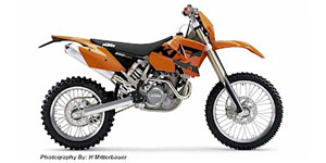 2004 KTM EXC 250 Racing