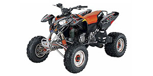 2004 Polaris Predator Troy Lee Edition