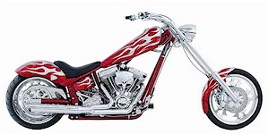 2005 American IronHorse Texas Chopper Base