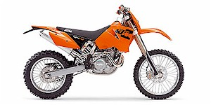 2005 KTM MXC 525 Desert Racing