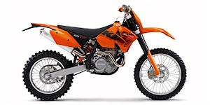 2006 KTM EXC-G 525 Racing