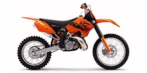 2006 KTM XC 200