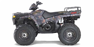 2006 Polaris Sportsman 700 Twin EFI - Browning Edition