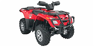 2007 Can-Am Outlander 400 H.O. XT