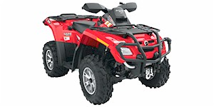 2007 Can-Am Outlander MAX 500 H.O. EFI XT