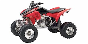 2007 Honda TRX 450R (Kick Start)
