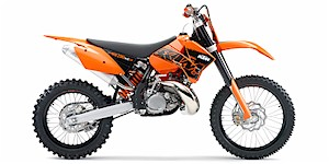 2007 KTM XC 200 W