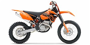 2007 KTM XC 250 F