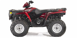 2007 Polaris Sportsman 500 EFI Sunset Red (Limited Edition)