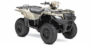 2007 Suzuki KingQuad 700 Camouflage 4X4