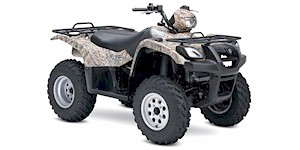 2007 Suzuki Vinson Automatic 500 4X4 Camouflage Edition