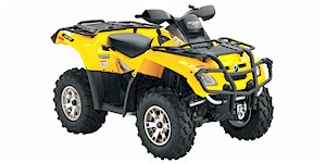 2008 Can-Am Outlander 800 H.O. EFI XT 4x4