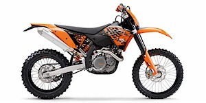2008 KTM EXC 450 Racing