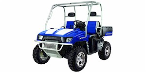 2008 Polaris Ranger XP Supersonic Blue Rally (Limited Edition)