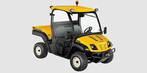 2009 Cub Cadet Volunteer 4x4 Yellow Cab