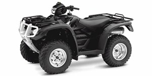 2009 Honda FourTrax Foreman Rubicon GPScape With Power Steering