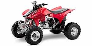2009 Honda TRX 450R (Kick Start)