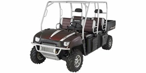 2009 Polaris Ranger Crew LE Black Cherry