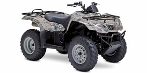 2009 Suzuki KingQuad 400 AS Camo