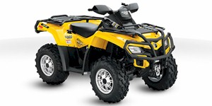 2011 Can-Am Outlander 800R EFI XT