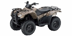 2010 Honda FourTrax Rancher AT With Power Steering