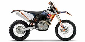 2010 KTM EXC 450 Champions Edition