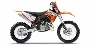 2010 KTM XC 200 W