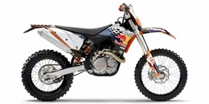 2010 KTM XC 250 F W Champions Edition