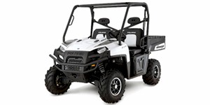 2010 Polaris Ranger 800 XP Pearl White LE