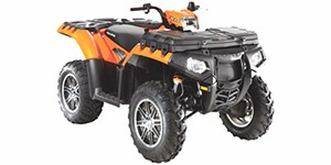 2011 Polaris Sportsman 850 XP EPS Orange Madness LE