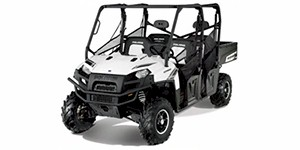 2012 Polaris Ranger Crew 800 EPS Pearl White LE