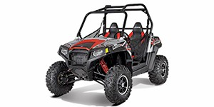 2012 Polaris Ranger RZR S 800 Liquid Silver / Red LE