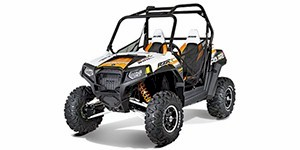 2012 Polaris Ranger RZR S 800 White / Orange Madness LE