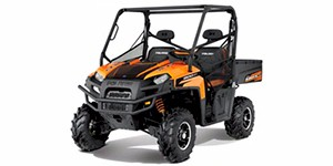 2012 Polaris Ranger XP 800 EPS Black / Orange Madness LE