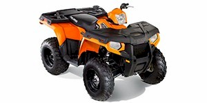 2012 Polaris Sportsman 500 HO Orange Madness LE