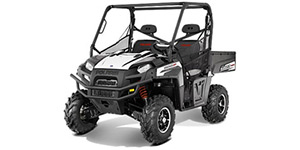 2013 Polaris Ranger 800 Black / White Lightning LE