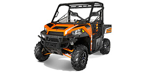 2013 Polaris Ranger XP 900 EPS Orange Madness LE