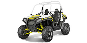 2014 Polaris RZR S 800 EPS White Lightning LE